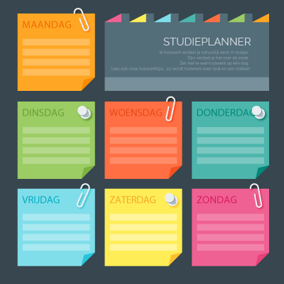 Gratis digitale Studieplanners vmbo, havo, vwo, mbo, hbo, wo